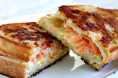 Smoked Salmon and Gruyere Grilled Cheese Sandwich ...